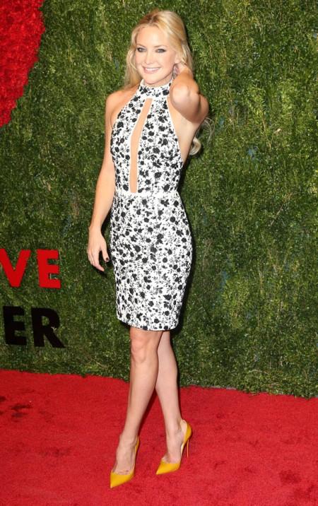 Kate Hudson in Michael Kors - Courtesy of FameFlynet, Inc
