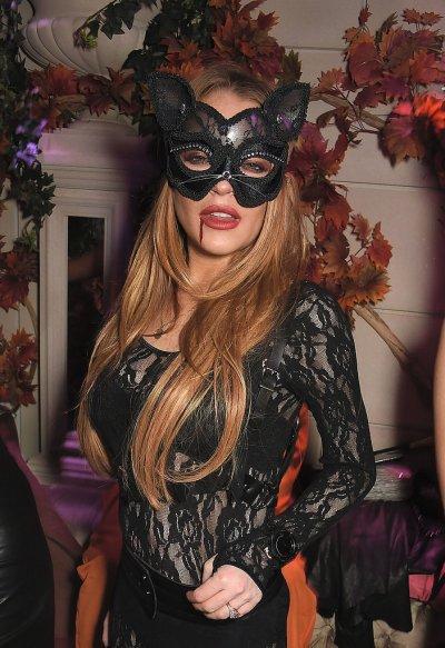 Lindsay Lohan as a Cat - Courtesy of popsugar.com