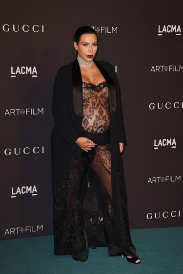 Kim Kardashian in Givenchy - Photo by Mark Ralston - AFP - Getty Images