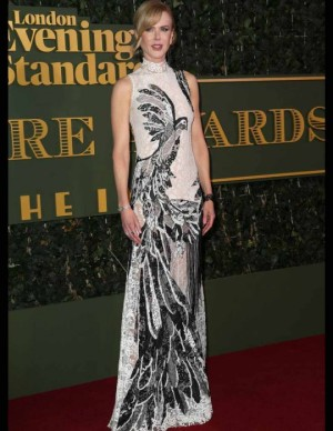 Nicole Kidman in Alexander McQueen - Karma Press Photo