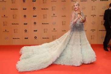 Rita Ora in Marchesa - Clemens Bilan - Getty Images