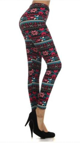Love You More leggings from Black Sheep Legging