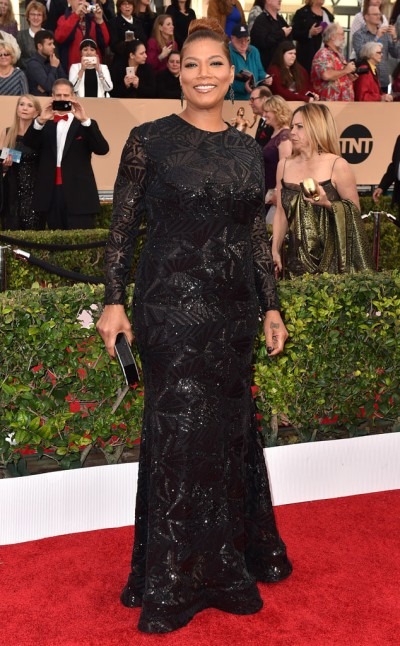 Queen Latifah in Michael Costello - Photo Jordan Strauss - Invision - AP