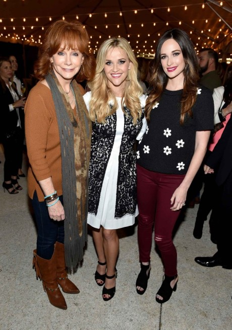 Reese-Kacey Musgraves-and-Reba McEntire- Shearer Photo Draper James