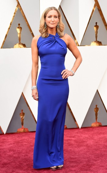 Lara Spencer in Roland Mouret - Jason Merritt - Getty