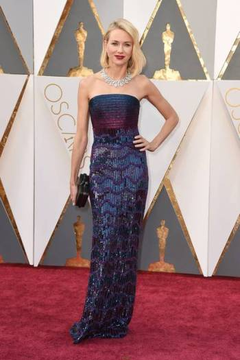 Naomi Watts in Armani - Jordan Strauss - Invision - AP