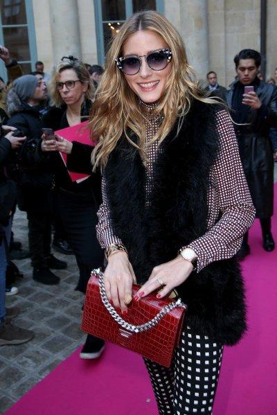 Olivia Palermo at Schiaparelli - Photo Pierre Suu - Getty
