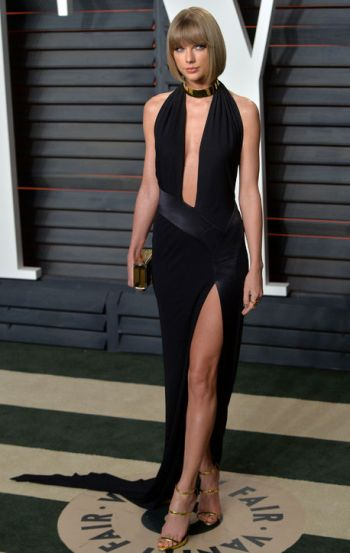 Taylor Swift in Alexandre Vauthier - Courtesy of Glamour