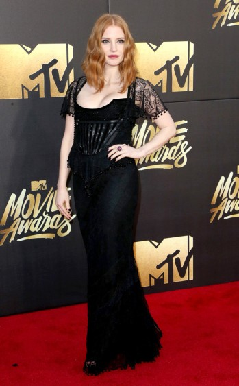 Jessica Chastain in Givenchy - Frederick M. Brown - Getty.jpg