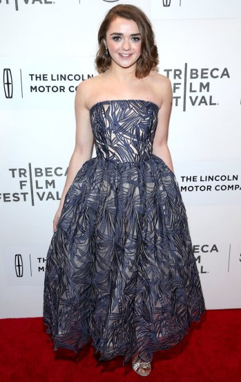 Maisie Williams at Tribeca Film Festival - Getty - The Luxe Lookbook.jpg