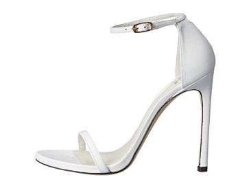 Olivia Culpo white heel sandal - Courtesy of fashioninstyle.net - The Luxe Lookbook