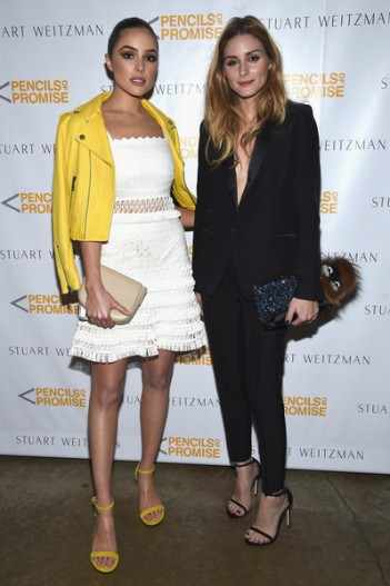 Olivia Culpo with Olivia Palermo at Pencils of Promise - Courtesy of Zimbio - The Luxe Lookbook.jpg
