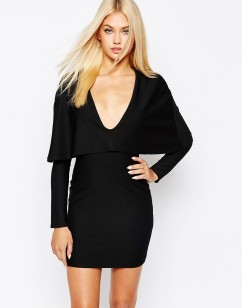 Taylor Swift Cape Mini Dress - The Luxe Lookbook