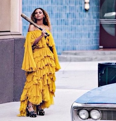 Beyonce in Lemonade - Photo Source Idolator.com - The Luxe Lookbook
