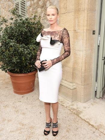 Charlize Theron in Dior - Photo by Dior - The Luxe Lookbook