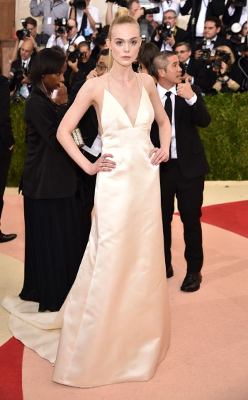Elle Fanning in Thakoon - Photo by Dimitrios Kambouris - Getty Images - The Luxe Lookbook