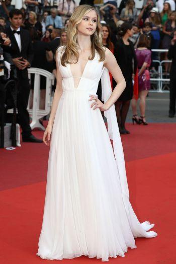 Erin Moriarty in Valentino - Photo credit celebmafia.com - The Luxe Lookbook