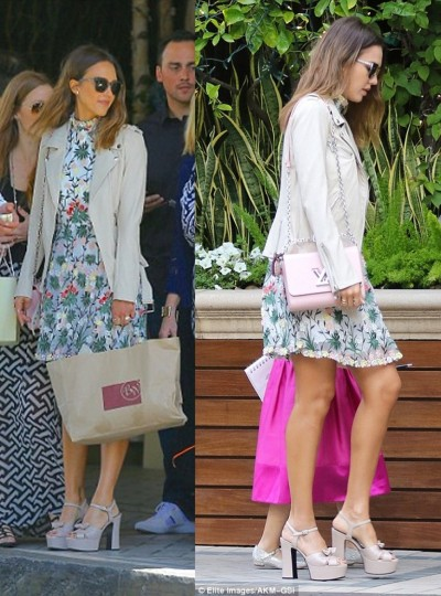 Jessica Alba - Photo Sources Elite Images-AKM-GSI and Fameflynet.uk.com - The Luxe Lookbook