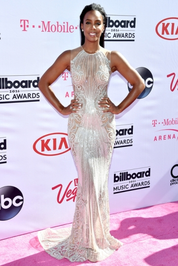 Kelly Rowland in Labourjoisie - Photo credit - John Shearer - Getty - The Luxe Lookbook