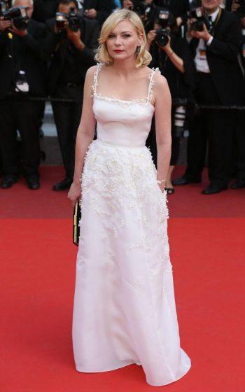 Kirsten Dunst in Dior at Loving screening - Photo credit James Gourley-REX-Shutterstock - The Luxe Lookbook