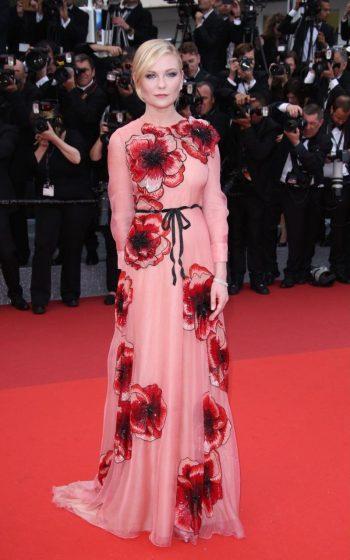 Kirsten Dunst in Gucci - Photo by Matt Baron - BEI - The Luxe Lookbook