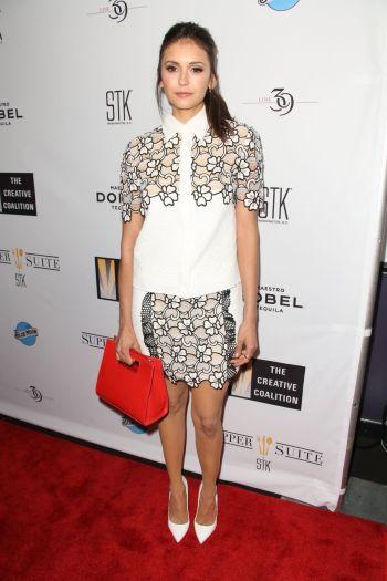Nina Dobrev - Photo Source celebrityhive.com - The Luxe Lookbook
