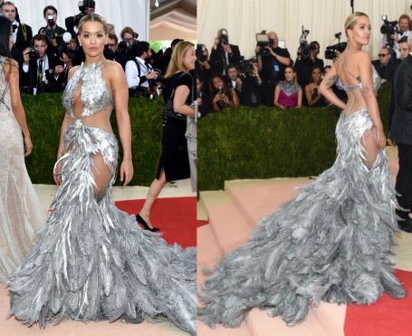 Rita Ora in Vera Wang - Photo by Andrew H. Walker - REX-Shutterstock and Getty - The Luxe Lookbook.jpg