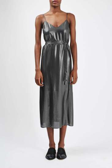 Topshop Silver Dress - Luxe Look for Less - The Luxe Lookbook