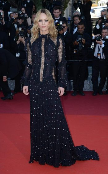 Vanessa Paradis in Elie Saab - Photo credit - Wenn.com - The Luxe Lookbook