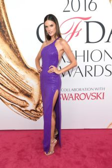 Alessandra Ambrosio in Michael Kors, Christian Louboutin heels an Chopard jewels at CFDA Awards 2016 - Photo credit - Getty Images - The Luxe Lookbook