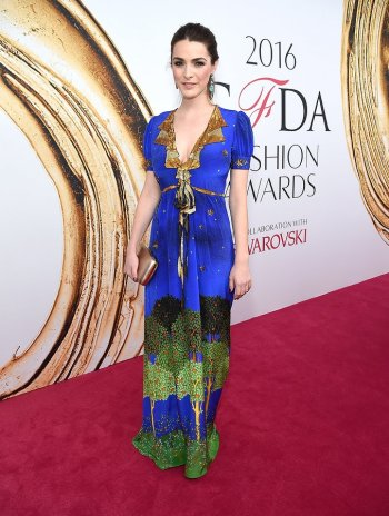 Bee Shaffer in Gucci and Irene Neuwirth jewelry at CFDA Awards 2016 - Photo credit - Getty Images - The Luxe Lookbook