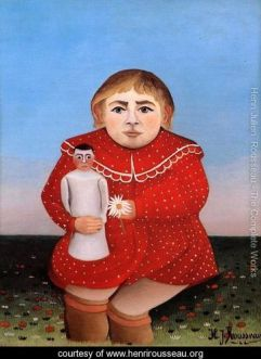 Child With Doll - 1904 - Henri Rousseau - HenriRosseau.org