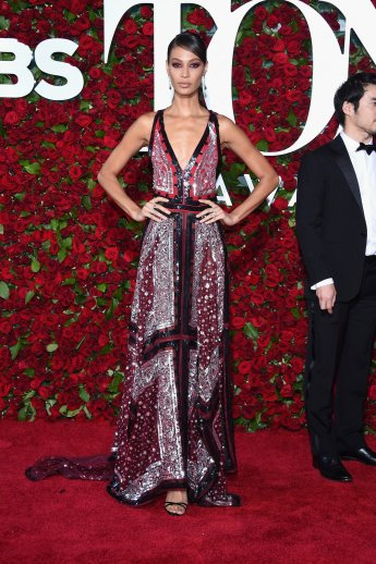 Joan Smalls in Altuzarra and Monique Pean jewelry - Photo credit-Getty - The Luxe Lookbook