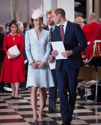 Kate Middleton - Photo credit-Stefan Rousseau-Getty - The Luxe Lookbook
