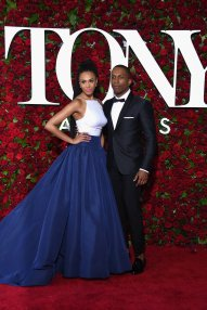 Nicolette Robinson and Leslie Odom Jr - Photo credit-Getty - The Luxe Lookbook