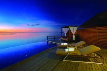 Baros Water Pool Villas - Courtesy of Baros.com - The Luxe Lookbook