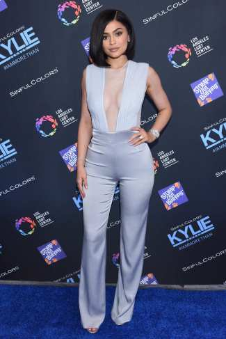 Kylie Jenner - Photo credit-Getty Images - The Luxe Lookbook