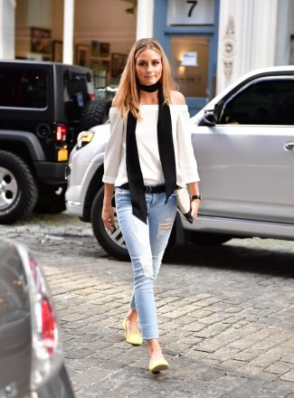 Olivia Palermo - Photo credit-James Davaney-Getty - The Luxe Lookbook