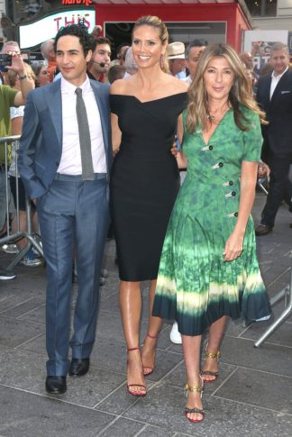Zac Posen - Heidi Klum - Nina Garcia - Photo credit-Getty Images - The Luxe Lookbook