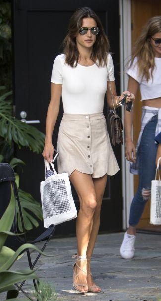 Alessandra Ambrosio - Photo credit-celebmafia.com - The Luxe Lookbook