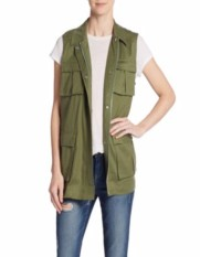 Heidi Klum Safari Vest for Less - The Luxe Lookbook