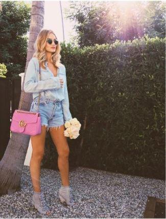 Rosie Huntington-Whitely - Instagram - The Luxe Lookbook.JPG