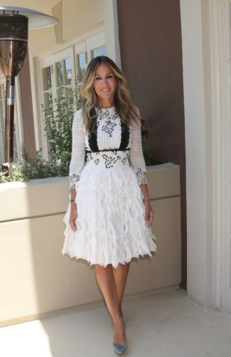 Sarah Jessica Parker - Photo credit-celebmafia.com - The Luxe Lookbook