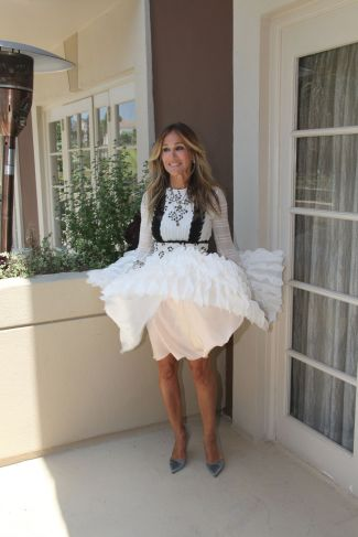 Sarah Jessica Parker - Photo credit-celebmafia.com - The Luxe Lookbook1