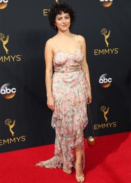 Mandatory Credit: Photo by Jim Smeal/BEI/Shutterstock (5899065ab) Alia Shawkat 68th Primetime Emmy Awards, Arrivals, Los Angeles, USA - 18 Sep 2016