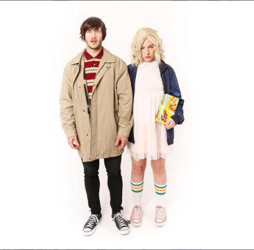 Mike and Eleven from Stranger Things - keikolynn - Instagram