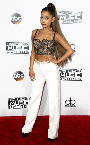 ariana-grande-in-alexander-mcqueen-at-2016-amas-frederick-m-brown-getty-the-luxe-lookbook