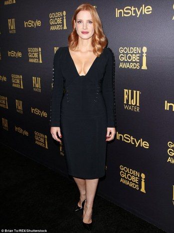 jessica-chastain-at-golden-globes-party-brian-to-rex-shutterstock-the-luxe-lookbook