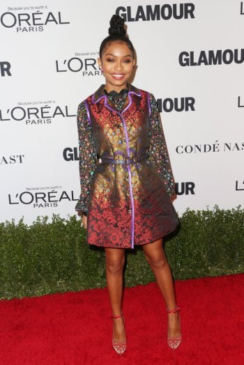 Yara Shahidi at Glamour Women of the Year 2016 - Frederick M. Brown-Getty - The Luxe Lookbook.jpg