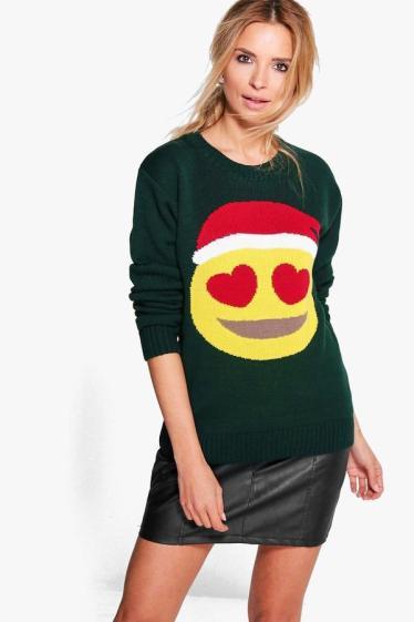 boohoo-emoji-christmas-sweater-the-luxe-lookbook